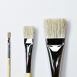 Flat Brush for Japanese Painting