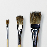 Tokusei Sanba Flat Brush