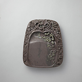Duan Inkstone Soko Flower curving Grape