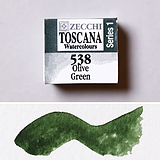 538 Olive Green - Watercolor
