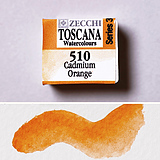 510 Cadmium Orange - Watercolor