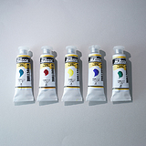 MAYAN Colors Natural Pigments Acrylic Paints 5 Colors set