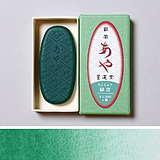 Saiboku Aya Rokusho (Color Ink Stick Verdigris)