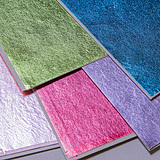 Colored  silver leaf 5colors set