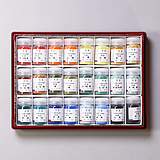 24 Color Pigments Set (Red)