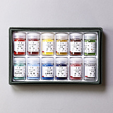 12 Color Pigments Set B (Green)