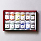 12 Color Pigments Set A (Red)