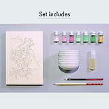 Art Materials set(Introduction to Mineral Pigment)