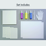 Art Materials set(Creating Original Color Wheel)