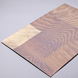 RSSR-007 Red Pearl Leaf (Wood-grain Pattern)