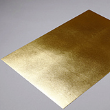 RSY-001 Brass Leaf (Mounted on Paper)