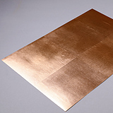 RSC-001 Copper Leaf (Mounted on Paper)
