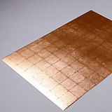 RSC-011 Copper Leaf  (Lattice Pattern/ Small)