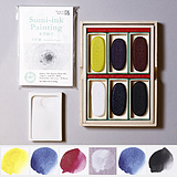 PIGMENT SELECT  Color Ink Stick Set / 6 colors