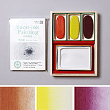 PIGMENT SELECT  Color Ink Stick Set /Red3colors